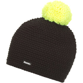 Eisbär Jamie Gorro Pompon Hombre, black/light yellow